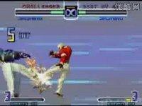 街机拳皇2002连招视频
