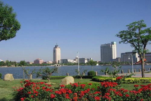 德州新湖风景区