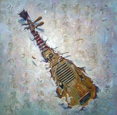 《十面埋伏》是蓍名琵琶传统大套武曲