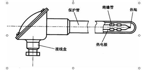 四线传感器接线盒原理图