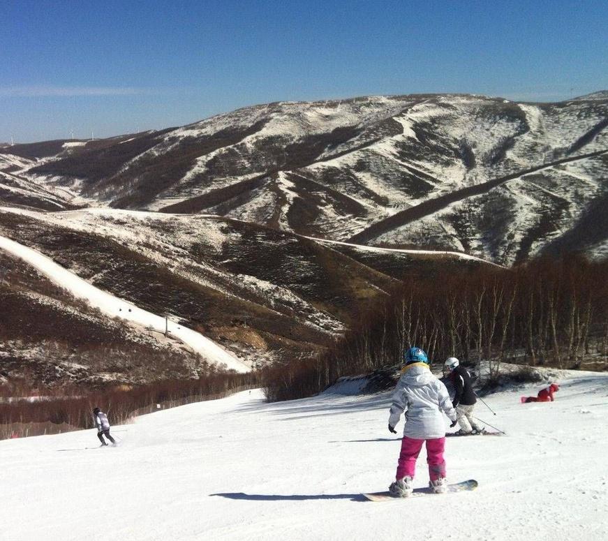 枯杨树冬季两项运动场   越野滑雪,北欧两项