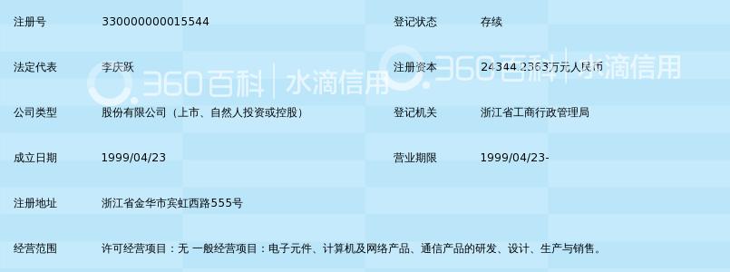 浙江东晶电子股份有限公司_360百科
